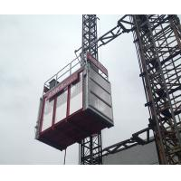 High Capacity 2000kg Building Hoist Construction Site Elevator With VFC System