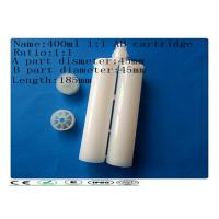 Wholesale 400 1:1 Plastic glue syringe barrel , AB glue cartridge , dual cartridge from china suppliers