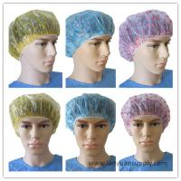 Wholesale Disposable PE Shower Cap with Cute Heart/PE transparent shower cap/shower cap for hotel from china suppliers