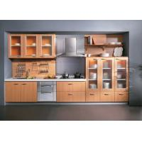 Wholesale Waterproof Painting Melamine Kitchen Cabinets With Oak Trim , Island Kitchen Units from china suppliers