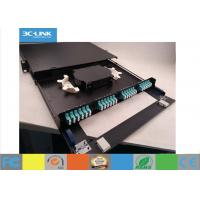 Wholesale 48 Cores Telescoping 1U Optical Fiber Distribution Frame With  Two In / Out - Lets from china suppliers