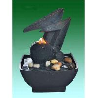 """Quality Home Collection 8.5"""" Small Desk Water Fountain With River Stone for sale"""