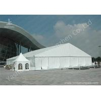 Wholesale High Pressed Frame Clear Span Steel Buildings UV Repellent Double Coated PVC Fabric Cover from china suppliers