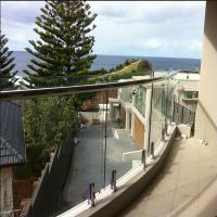 Buy cheap Moder design Curved glass railing with stainless steel spigots baluster from wholesalers