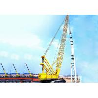 Wholesale Hydraulic Crawler Crane With 82M 150 Ton Main Hook Block 19m Boom from china suppliers
