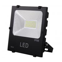 Wholesale Fish Scale Reflector 50W LED Outdoor Flood Lighting For Garden , Power Factor >0.95 from china suppliers