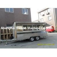 Wholesale CE Iso9001 Food Mobile Catering Trailers Six Burners Gas Cooker from china suppliers