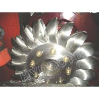 Impulse turbine Pelton Hydro Turbine / Pelton Water Turbine with Stainless Steel Runner for High Head Hydropower Project