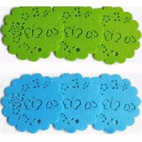 Wholesale high quality various color factory price round felt coaster from china suppliers