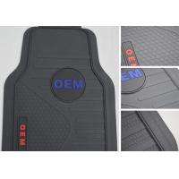 Wholesale Black PVC Universal Car Foot Mat Full Set 5pc / Auto Floor Carpet from china suppliers