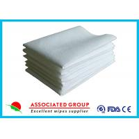 Wholesale Hotel / Restaurant / Airline Dry Disposable Wipes Ultra Size With Soft Pearl Pattern from china suppliers
