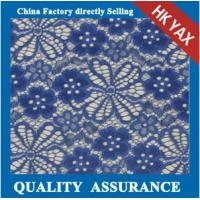 Wholesale china nylon floral lace fabric factory;high quality 100% nylon lace fabric for lady dresses;fashion design lace fabric from china suppliers