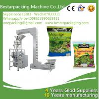 Wholesale New design green leafy vegetable salad weighting and packaging machine,with vegetable washing and cuttingmachine from china suppliers