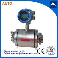 Wholesale Electromagnetic Flow Meter for Food Processing With Reasonable price from china suppliers