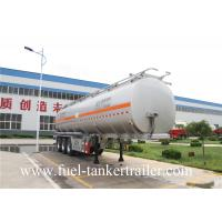 Wholesale 60m3 Fuel Tanker Trailer tri - axle tank semi trailer 60000 liter oil tank from china suppliers