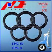 China DOT Certificated Natural Rubber 16*2.50 Electric Bicycle Inner Tube on sale