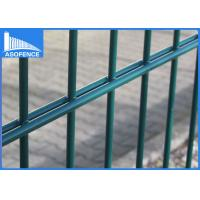 Wholesale Low Carbon Galvanized Double Wire Fence Durable With 60*60mm Square Post from china suppliers