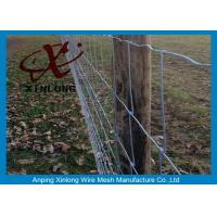 Wholesale Commercial Galvanized Field Fence For Live Stock Easy Maintenance  from china suppliers