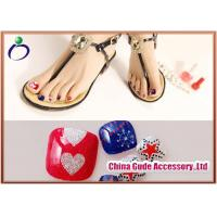 Wholesale Assortment of Anchor Toenail Decals Diamond Artificial Fingernails for Decorating from china suppliers