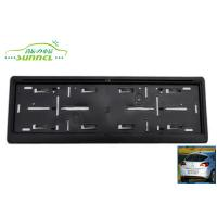 Wholesale Decorative PP Standard euro license plate frame Car Exterior Accessories from china suppliers