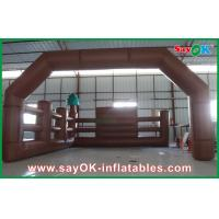 Wholesale Commercial Inflatable Arch With Fence Inflatable Advertisement from china suppliers