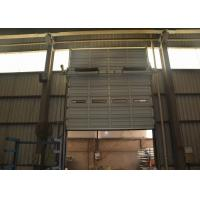 Wholesale Small sound big width single board metal sectional doors with hard solid motor running from china suppliers