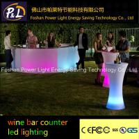 Wholesale led furniture plastic light counter from china suppliers