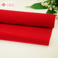 Wholesale Flocking Polyester Printed Velvet Fabric For Jewellry / Packaging Box from china suppliers