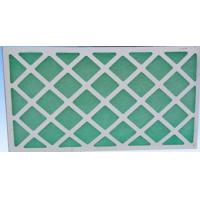 Wholesale Primary Air Filtration Filters , Flat Panel Fiberglass Air Filters For Hvac from china suppliers