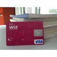 Wholesale Plastic VISA Smart Card / Prepaid Debit Card with Hologram Label from china suppliers