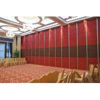 Wholesale Easy Installation Wood folding Partition Wall for Function Room Opening Style from china suppliers