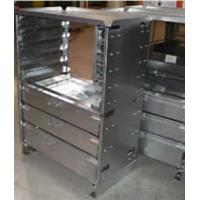 Wholesale Customized sturdy construction cuboid sheet metal cabinet IP65 from china suppliers