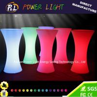 Wholesale LED Bar Event Party Furniture LED Cocktail Bar Table from china suppliers