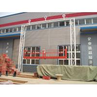 Wholesale 8-10m/min Electrical Aerial Roof Suspended Platform Cradle, Cage Platform ZLP 630 from china suppliers