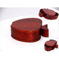 Wholesale Rosewood Apple shape wood box from china suppliers