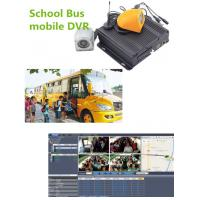 Wholesale Hybrid Four - In - One 4CH Vehicle Mobile Vehicle DVR For School Bus , 1080P Resolution from china suppliers