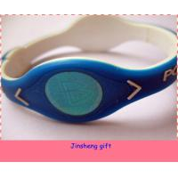 Wholesale silicone power force bracelet from china suppliers