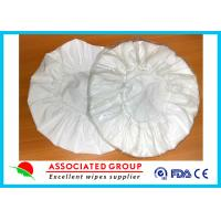 Wholesale White Unscented Disposable Rinse Free Shampoo Cap Shampoo Condition Added from china suppliers