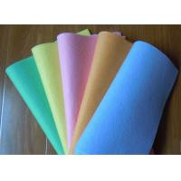 Buy cheap Super water absorbing Needle punched nonwoven cleaning wipes 40*40cm from wholesalers