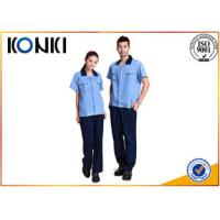 Wholesale Custom Polyester / Cotton Fabric Custom Work Uniform For Workers from china suppliers