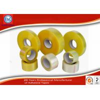 Wholesale Water Activated Yellow Transparent BOPP Packing Tape High Strength from china suppliers