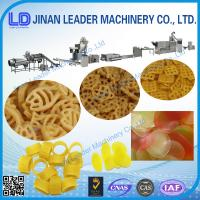 Wholesale Small slanty shell chips 3D pellet extruding and frying automatic food machine from china suppliers