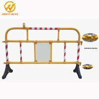 Wholesale Safety Plastic Traffic Barriers , PVC Portable Road Barriers Control Size 1500*1000mm from china suppliers