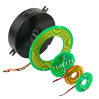 Wholesale Light 6mm Thickness Pancake Slip Ring with High Rotating Speed and Stable Contact from china suppliers