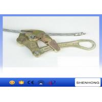 Wholesale 3 Ton Cable Pulling Clamp / Come Along Clamp NGK Wire Rope Grips S-3000 from china suppliers