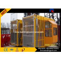 Wholesale 2*2000Kg Load Construction Hoist Elevator 50m Height  For Projects from china suppliers