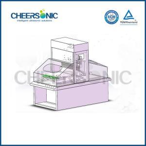 Quality 220v Ultrasonic Food Cutter / Food Slicer Machine UFM6000 For Cake , Bread , Pizza for sale