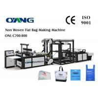Wholesale Multifunctional D - Cut Non Woven Fabric Bag Making Machine With 5 Sets Ultrasonic from china suppliers