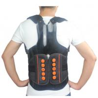 Dual Pulley System Upper Back Support Brace Breathable With Rigid Taylor Vest