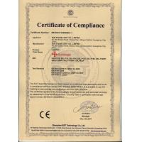 RAYELITE CO., LIMITED Certifications